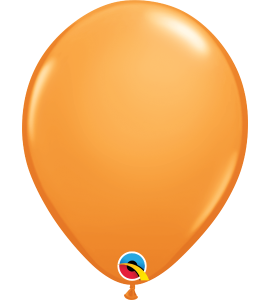 Palloncini in lattice 5rnd orange 100pz
