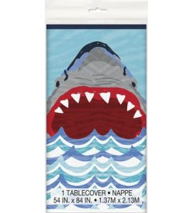 Tovaglia Shark party 137x213cm