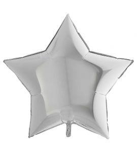 Stella mylar argento 36 pollici