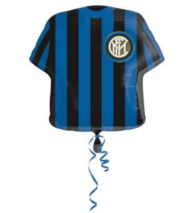 Palloncino mylar super shape dell'Inter 60cm