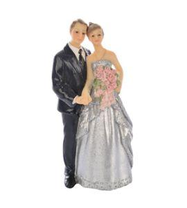 Cake topper nozze d'argento