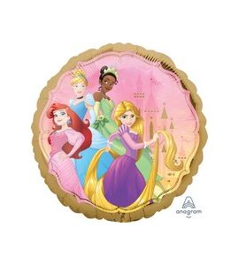 Palloncino mylar princess once upon time 18 pollici