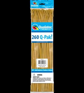 Palloncini modellabili 260Q-Pak! gold 50pz