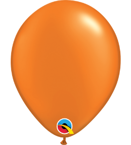 Palloncini in lattice 5rnd pearl mandarin orange 100 pz