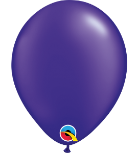 Palloncini in lattice 5rnd pearl quartz purple100 pz