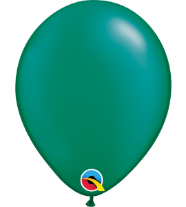 Palloncini in lattice 5rnd pearl emerald green 100 pz