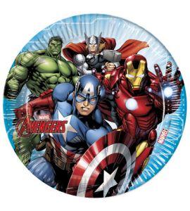 Avengers - Piatti 23CM - 8PZ