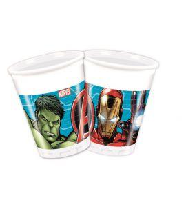 Avengers Bicchieri 200ml - 8pz
