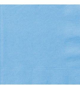 Tovaglioli Unique Azzurri 33x33cm 20pz