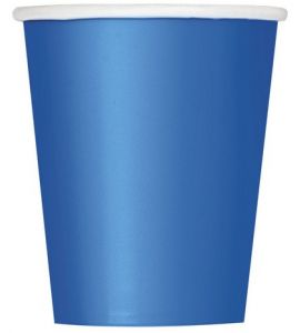 Bicchieri Unique Blu (Royal Blue) 270ml 14pz