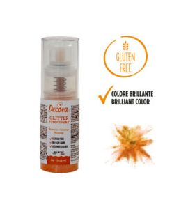 Spray Decora Glitterato Arancio