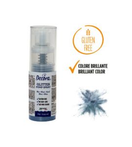 Spray Decora Glitterato Blu