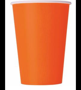 Bicchieri Twenty Arancio 250cc 10pz