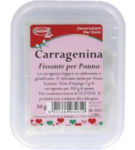 Carragenina (Fissante per Panna) Graziano 10g