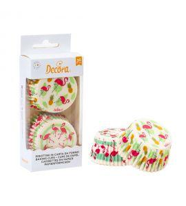 Pirottini Decora Muffin Fenicotteri 36pz