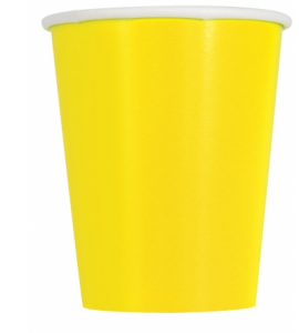 Bicchieri Twenty Giallo Sole 250cc 10pz