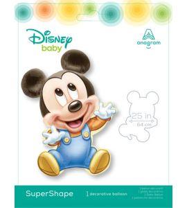 Palloncino Mylar Supershape Baby Mickey 33pollici 84cm