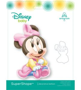 Palloncino Mylar Supershape Baby Minnie 33pollici 84cm