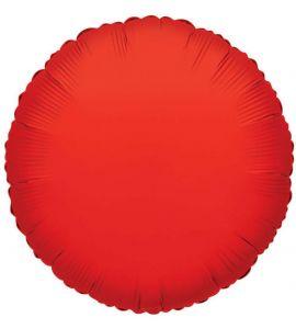 Tondo mylar rosso 36 pollici