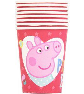 Bicchiere Peppa Pig 200cc 8pz