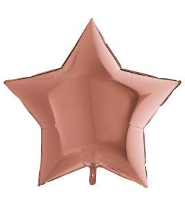 Stella mylar rose gold 36 pollici