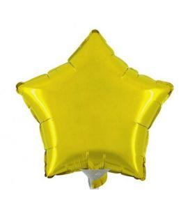 Stella mylar giallo mini shape 9 pollici